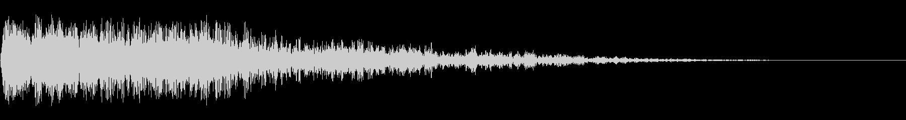 ディープメタリックインパクト1の未再生の波形