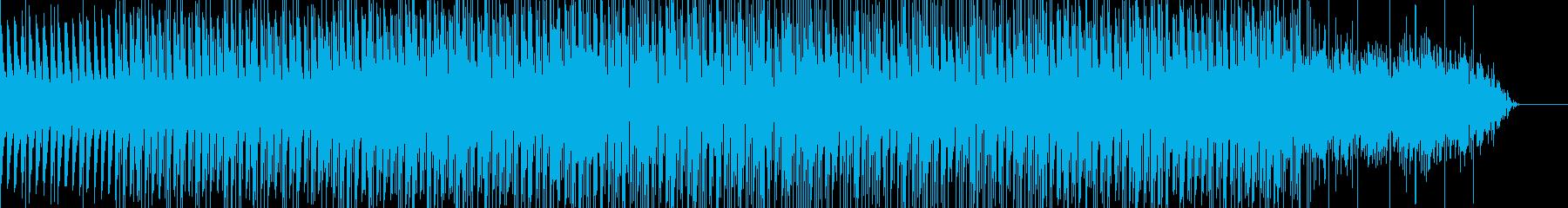 不思議なコード感のテクノの再生済みの波形