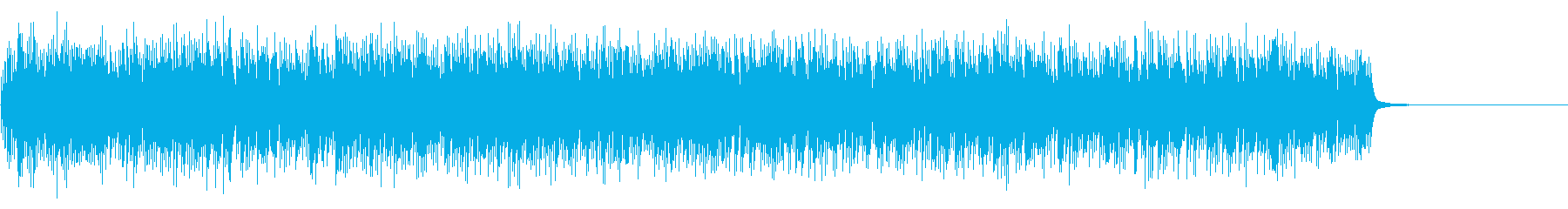 [生録音]ベルタイプの目覚まし時計03の再生済みの波形