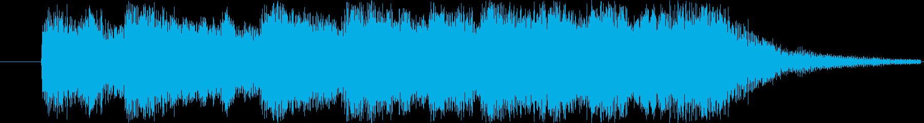 オーケストラのジングルです。の再生済みの波形