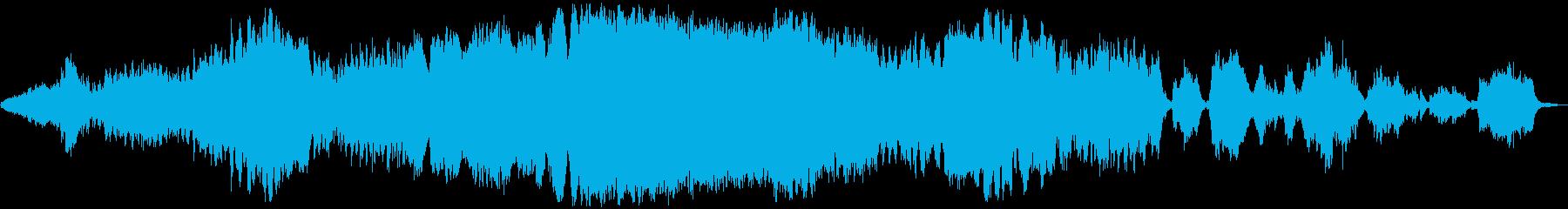 SF的オーケストラ音楽の再生済みの波形