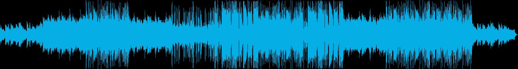 切ない 都会 トラップソウルの再生済みの波形