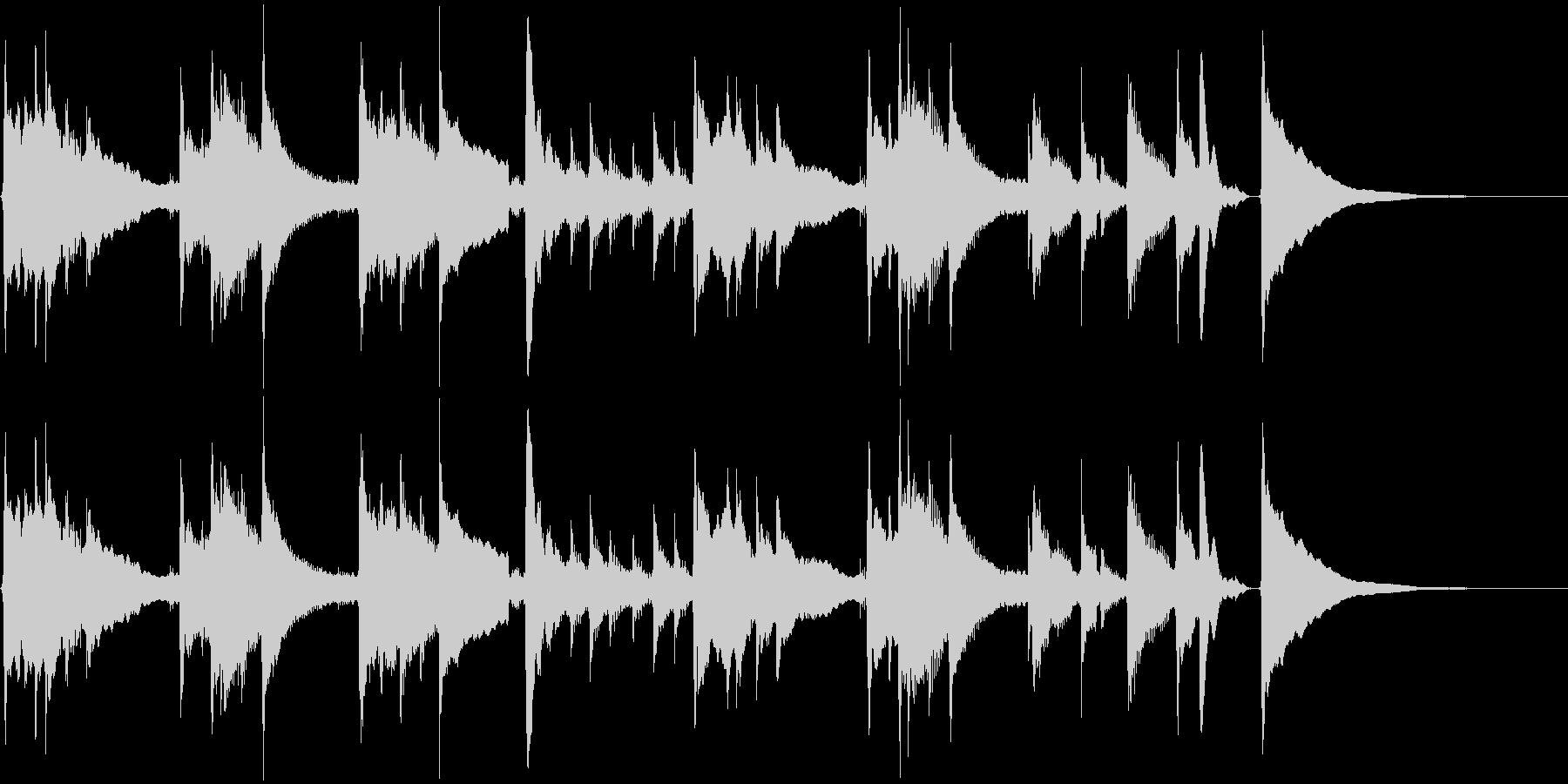 アコギ42/チルアウト、30秒、生音の未再生の波形