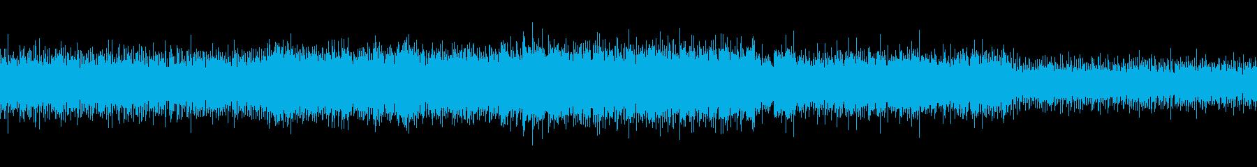 幻想的な切なさに包まれたアコギの伴奏の曲の再生済みの波形