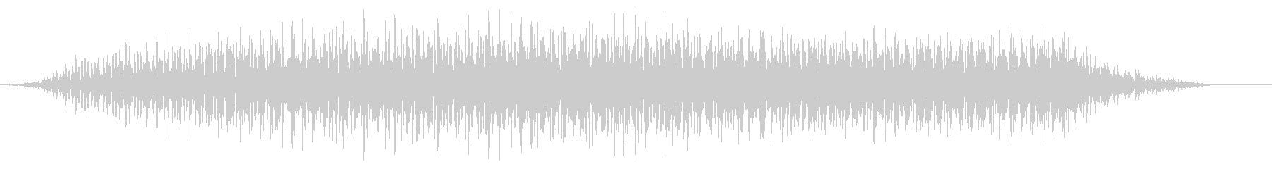 シュイーン(開く 伸びる 大きくなる音)の未再生の波形