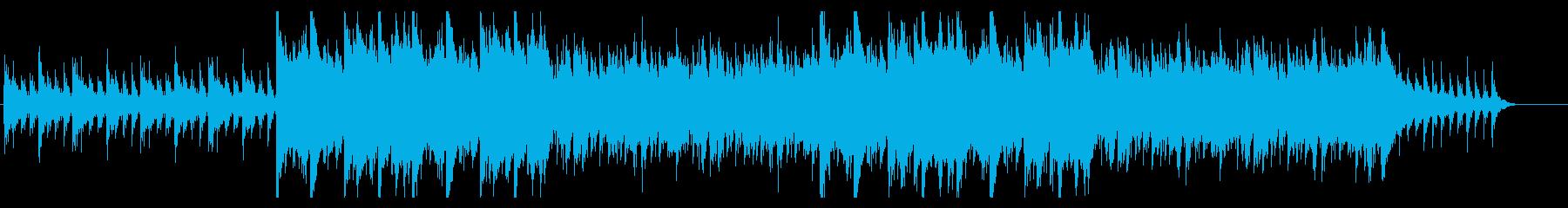 暗い・決戦前・緊張・ピアノ・コントラバスの再生済みの波形