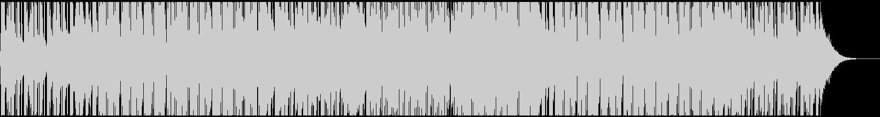 カラフルで軽快なテクノポップ CM・映像の未再生の波形