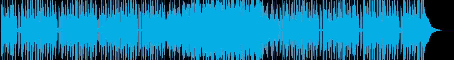 おとぼけ おまぬけ コミカルなギター曲の再生済みの波形