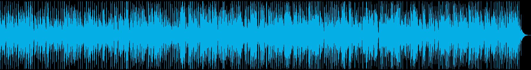 モダンな雰囲気のボサノバの再生済みの波形