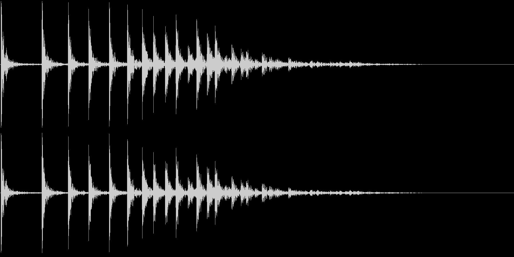 低音:バウンスアクセント、漫画コメ...の未再生の波形