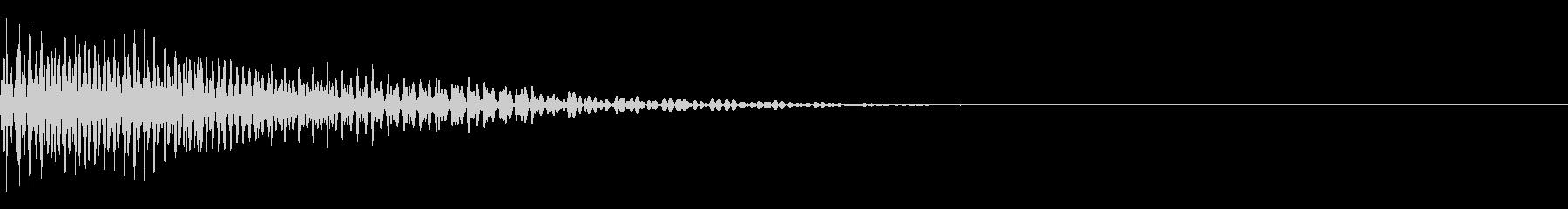 ベース/ドゥーン/ネックスライド/A03の未再生の波形