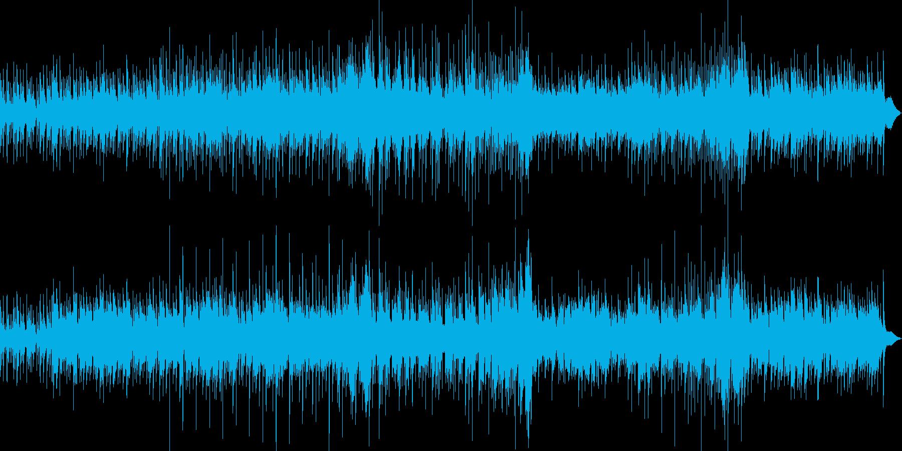 夕焼けが似合うアコギサウンドの再生済みの波形