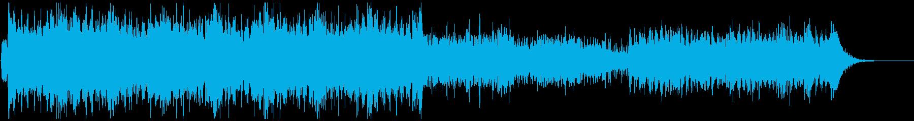 アニメ戦闘シーン<60秒CM>車、躍動感の再生済みの波形