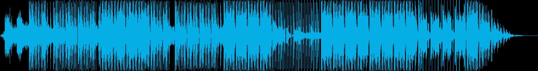ヒップホップを感じさせるダンスハウ...の再生済みの波形
