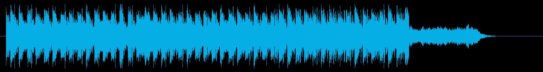 クリスマス EDM アップテンポ ベルの再生済みの波形