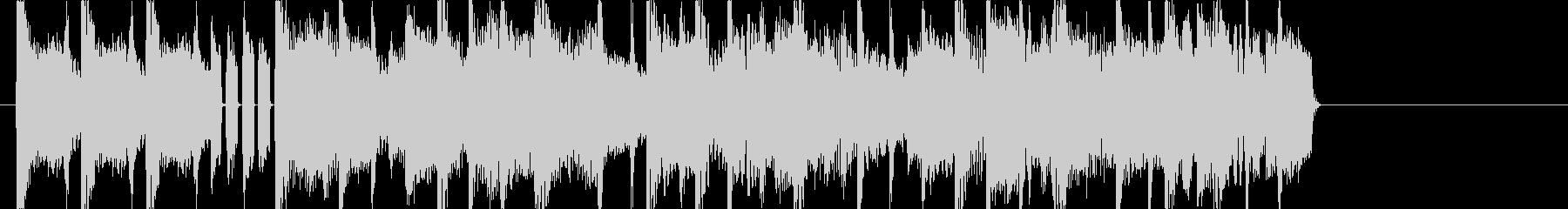 オシャレで切ないLO-FIジングルの未再生の波形