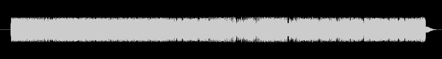 FX Ufoコミュニケーション01の未再生の波形