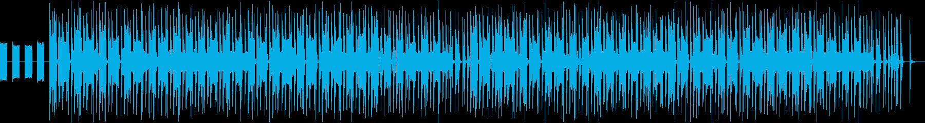 機械的な無機質なbgmです。の再生済みの波形