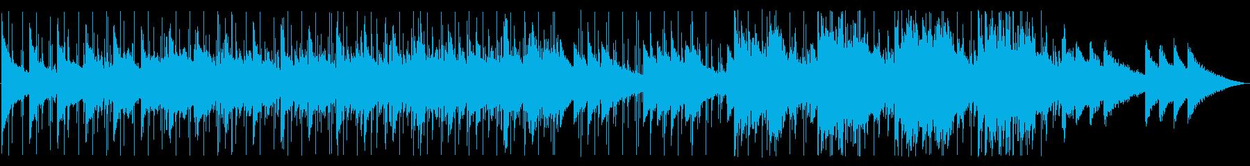 夏にクールダウンできそうなおしゃれ目な曲の再生済みの波形