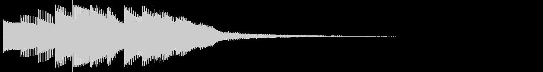 KANTアプリサウンド010228の未再生の波形