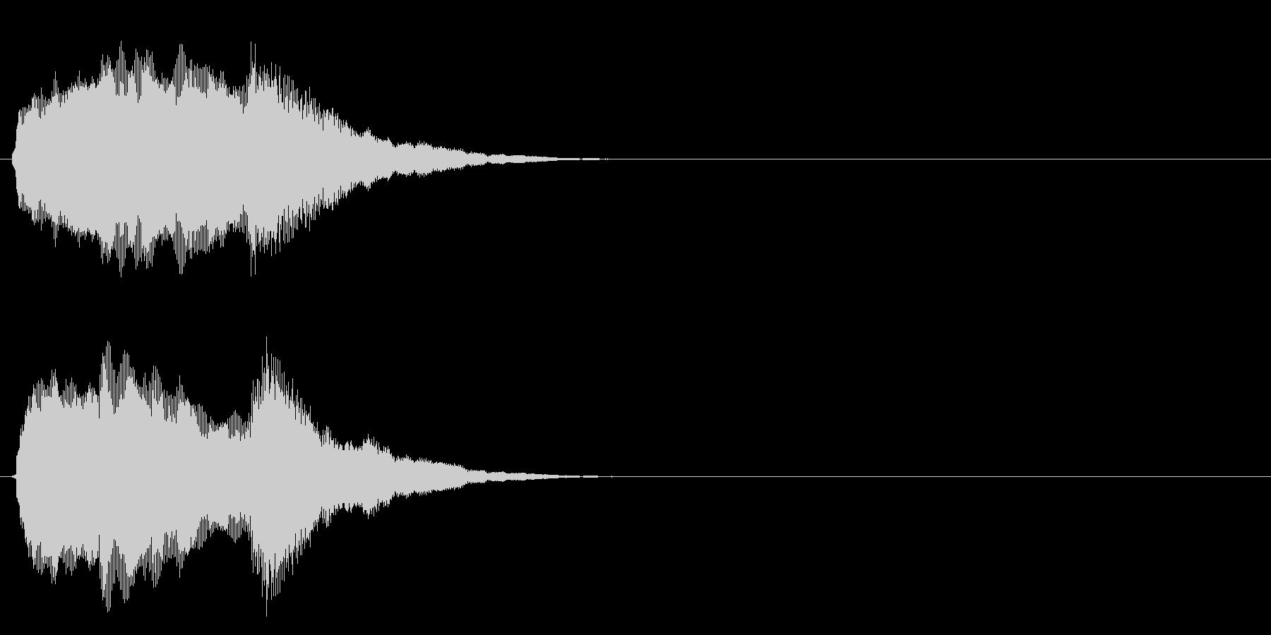 汎用 キラキラ系08(大) アイテム発見の未再生の波形
