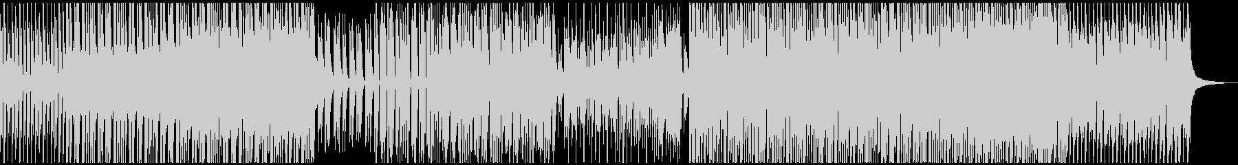 低音が効いてるフューチャーハウスの未再生の波形