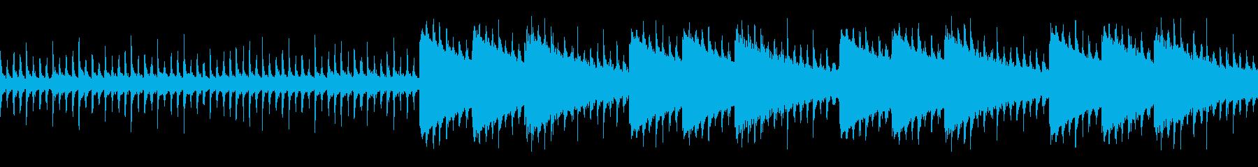 エレクトロニック パーカッション ...の再生済みの波形