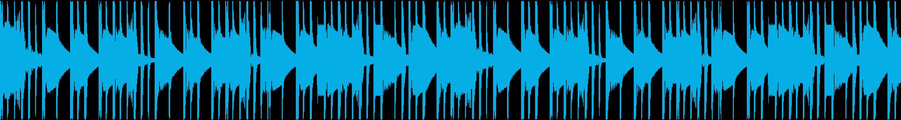 hiphop Drum Loop の再生済みの波形