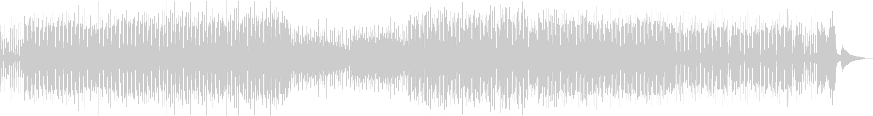 怪しいハロウィンおばけパーティBGMの未再生の波形