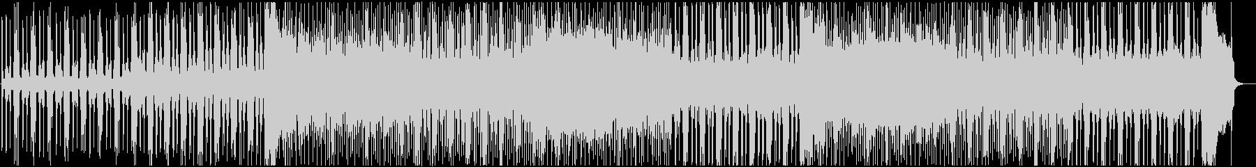 緊迫感のあるクラシカルなハードロックの未再生の波形