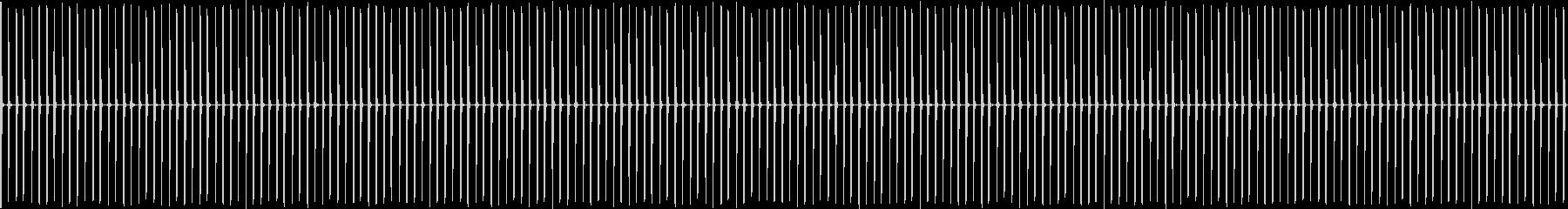 チクタク・・・・(約1分)の未再生の波形