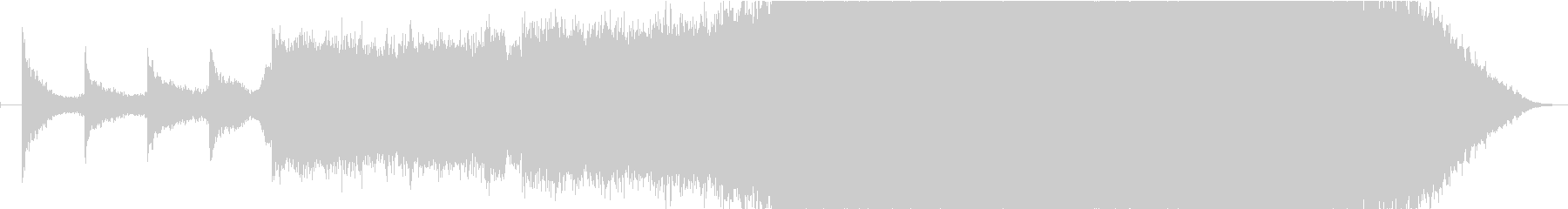 現代的 交響曲 クラシック ドラマ...の未再生の波形