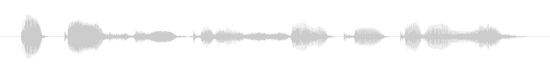 I heard that from my dad (female)'s unreproduced waveform