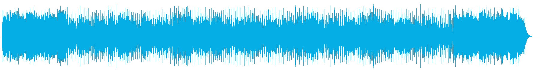 切なく感動的なシンセポップスの再生済みの波形