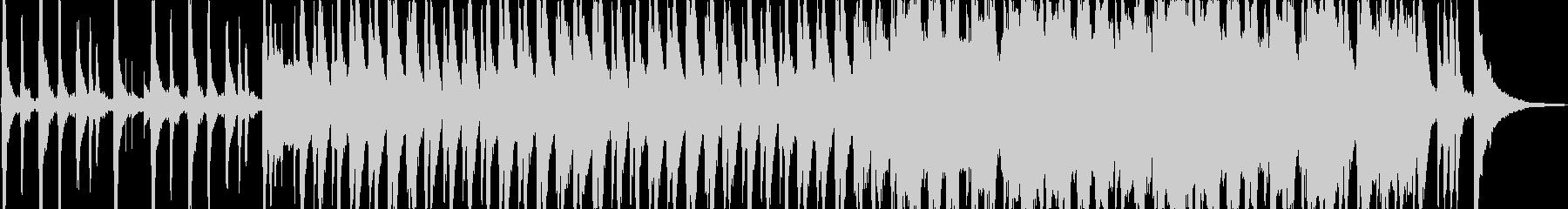 ほのぼの癒しオーケストラの未再生の波形
