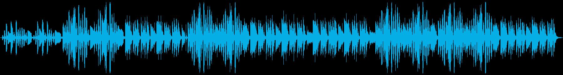 リコーダー2本でかわいくコミカルなループの再生済みの波形