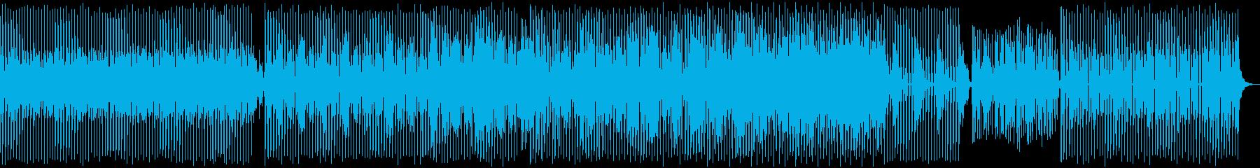 電子楽器。パルスダンスビートは、駆...の再生済みの波形