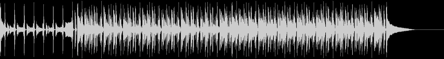 チル系エレクトロビートの未再生の波形