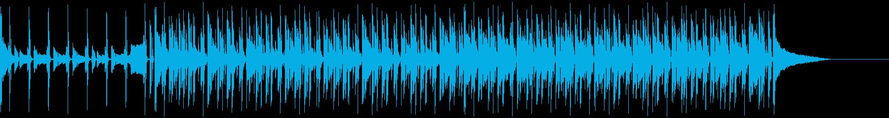 チル系エレクトロビートの再生済みの波形