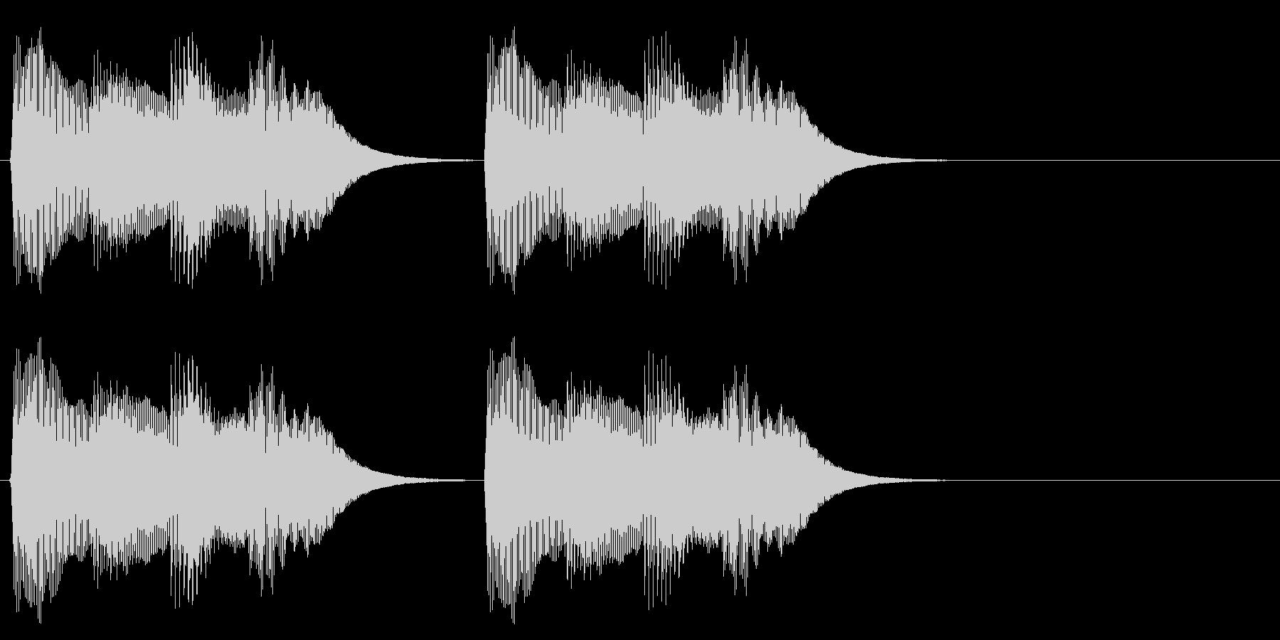 テロリラテロリラ(アラートに最適ピアノ)の未再生の波形