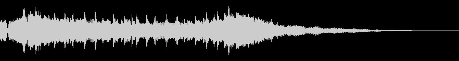 キックスタートの未再生の波形