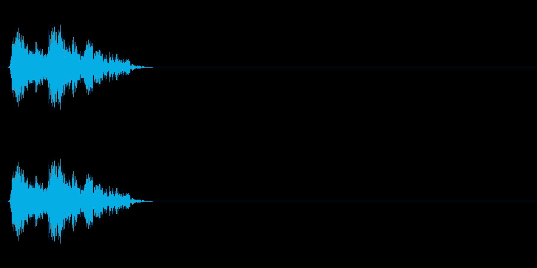 【斬る01-2】の再生済みの波形