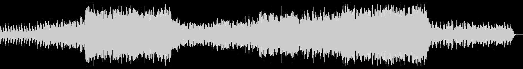 ラスボス戦闘時の荘厳で壮大な曲(+鐘音)の未再生の波形
