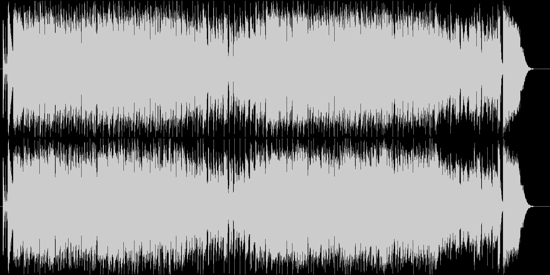 GS・昭和ロックなギターソロの未再生の波形