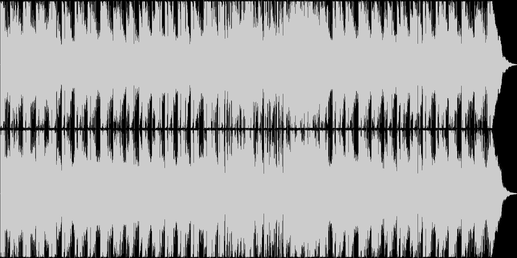 メランコリック風大人サウンドの未再生の波形