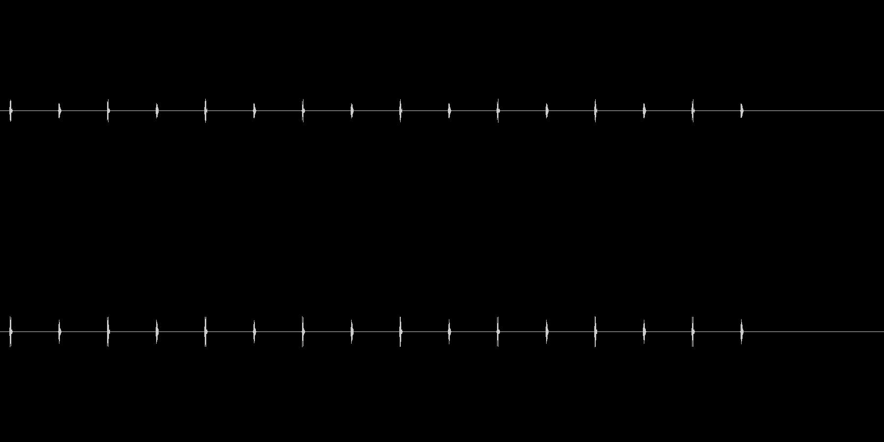 カチカチ音をたてるタイマータイプ1...の未再生の波形