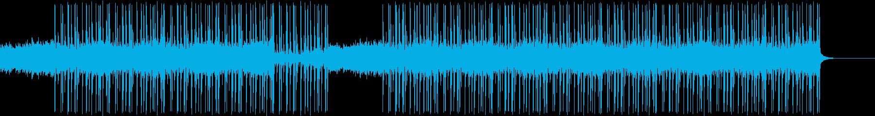 オリエンタルな弦楽曲、紹介・宣伝動画にの再生済みの波形
