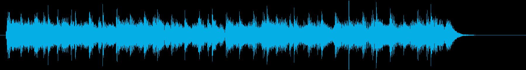 オープニングに使える軽快あっさり系ジャズの再生済みの波形