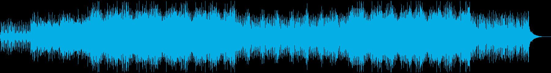 悲しげなミステリアスで神秘的なBGMの再生済みの波形