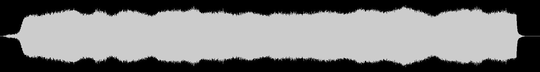 低音の強い機械の音「ブォー」の未再生の波形